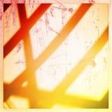 Cortinas da silhueta Foto de Stock