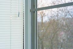 Cortinas de janela Foto de Stock