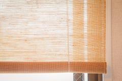 Cortinas de janela Imagem de Stock Royalty Free