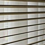 Cortinas de madeira Imagens de Stock