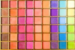 Cortinas del color Foto de archivo libre de regalías