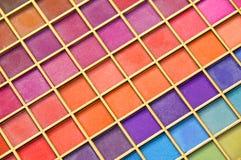 Cortinas del color Imágenes de archivo libres de regalías