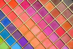 Cortinas del color Foto de archivo