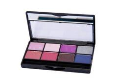 Cortinas del color del ojo Imagen de archivo libre de regalías