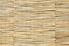 Cortinas do bambu Foto de Stock