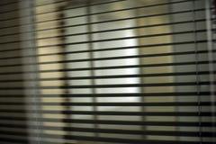 Cortinas do escritório imagem de stock