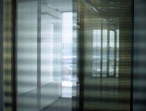 Cortinas do escritório Imagens de Stock