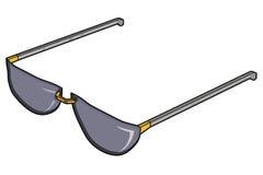 Cortinas/gafas de sol Imágenes de archivo libres de regalías