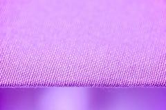 Cortinas Textured da tela Imagens de Stock