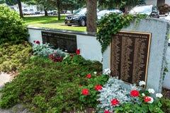 Cortland, NY: Corthouse park obraz stock