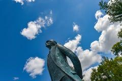 Corto Maltesse statue Angouleme Comic book Museum Charente France Stock Photography