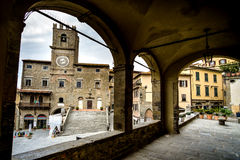 Cortona, Τοσκάνη, Ιταλία, 12$ος-16$ος αιώνας Στοκ φωτογραφίες με δικαίωμα ελεύθερης χρήσης