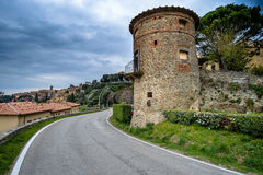 Cortona, Τοσκάνη, Ιταλία, 12$ος-16$ος αιώνας Στοκ εικόνα με δικαίωμα ελεύθερης χρήσης
