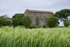 Cortona, Arezzo, Toscana, Italia, Europa, farneta de la abadía Imágenes de archivo libres de regalías