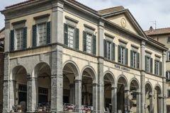 Cortona, Arezzo, Toscana, Italia, Europa, il signorelli del teatro Fotografie Stock Libere da Diritti