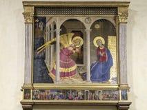 Cortona, Arezzo, Toscana, Italia, Europa, museo diocesano Fotografia Stock Libera da Diritti