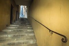 Cortona Arezzo, Tuscany - Italien arkivfoton