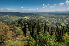Cortona Arezzo, Tuscany - Italien royaltyfri foto