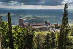 Cortona Arezzo, Tuscany - Italien arkivbild
