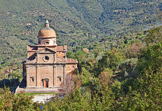 Cortona, Arezzo, Tuscany, Italy: church of Santa Maria Nuova Royalty Free Stock Photo