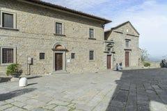 Cortona, arezzo, tuscany, italy, europe, diocesan museum Stock Photos