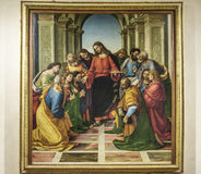 Cortona, arezzo, tuscany, italy, europe, diocesan museum Stock Photography