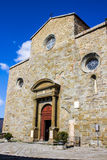 Cortona Cathedral (Duomo Di Cortona) in Italy Royalty Free Stock Photography