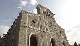 Cortona Cathedral, Italy Royalty Free Stock Image
