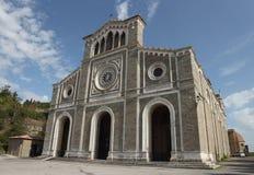 Cortona domkyrka, Italien arkivbild