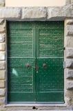 Cortona Front Door Arkivfoton