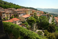 Cortona Hillside Royalty Free Stock Photo