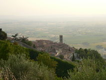 Cortona (Italia). View of Cortona in Tuscany, Italy Royalty Free Stock Image