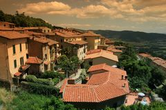 Cortona, Italy Royalty Free Stock Photography