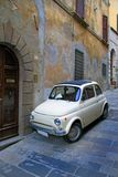Cortona, Italy, Compact car Royalty Free Stock Images