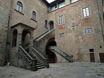 Cortona -  Palazzo Casali Royalty Free Stock Photography
