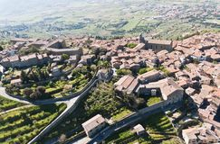 Cortona in Toscanië Stock Afbeelding