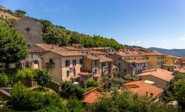 Cortona tuscan town Royalty Free Stock Photos