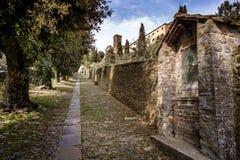 Cortona Tuscany, Italien, 12th-16th århundrade Fotografering för Bildbyråer