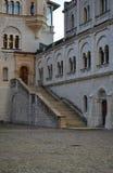 Cortyard de château Photos libres de droits