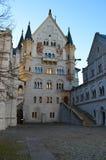 Cortyard de château Photo libre de droits