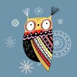 Coruja decorativa Imagens de Stock Royalty Free