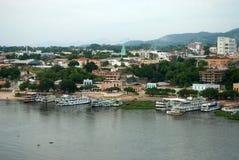 Porto Regional de Corumbá royalty free stock photo