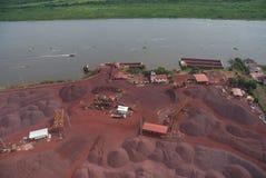 Iron ore royalty free stock photography