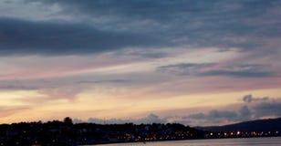 A coruna的加利西亚水晶城市 免版税库存照片
