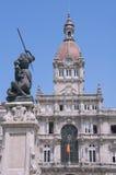 A Coruna City Hall, Galicia Stock Images