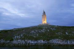 coruna Galicie Espagne Images libres de droits