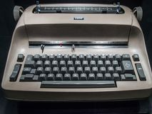 A Coruna - Spain, IBM Vintage typewriter machine stock photography