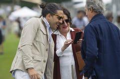 Carlos Torretta with Carmen Echevarría and Roberto Torretta