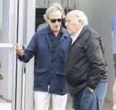 Roberto Torretta and Amancio Ortega