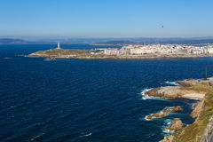 A Coruna - Tower of Hercules Stock Images